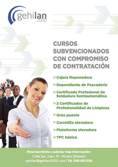 CURSOS COMPROMISO CONTRATACIÓN SUBVENCIONADOS